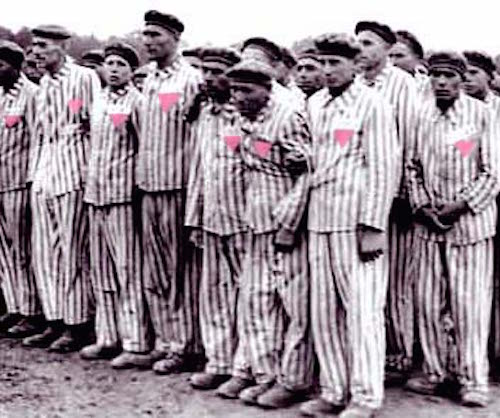 Homosexual prisoners in concentration camps