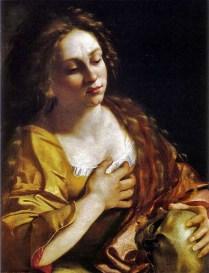 """Artemisia Gentileschi, """"St. Mary Magdalen"""" 1617-1620."""