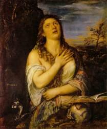 "Tiziano, ""The Penitent Magdalen"" 1533."
