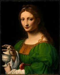 "Bernardino Luini, ""St. Mary Magdalen"" c. 1525."