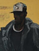 """Deep"" Arcylic on masonite 18""x24"" (2006)"