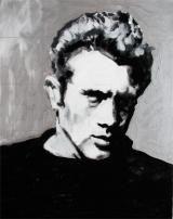 """JD"" Acrylic on canvas 18""x24"" (2007)"