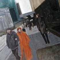 """""""Glance"""" Acrylic on canvas 24""""x30"""" (2006)"""