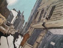 """""""Light"""" Acrylic on canvas 18""""x16"""" (2003)"""