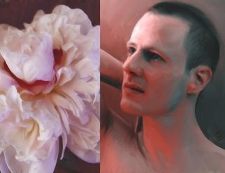 """""""Peter"""" Digital Painting (2015)"""