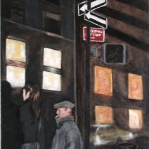 """Shorty"" Acrylic on canvas 30""x20"" (2003)"